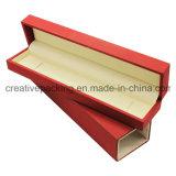 Rectángulo de madera de la caja del collar de la manera de la boda