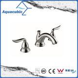 Robinet de lavabo en laiton de 8 po de robinet de lavabo à trois trous (AF0021-6)