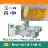 O arroz morde a maquinaria da fabricação