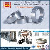 Биметаллический лист пробки теплообменного аппарата Ttanium стальной