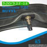 Tube en caoutchouc butylique 3.00-18 de chambre à air de tube de moto
