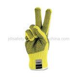 Жаропрочные перчатки работы с ПВХ точек (K6102)