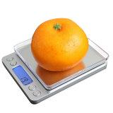 500g/0.01g는 스테인리스 보석 가중 가늠자 음식 가늠자를 방수 처리한다