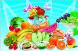 Schönes Frucht-Plakat mit niedrigerem Preis