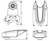 Супер камера шины и тележки ночного видения (DF-8066)