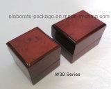 Vente en gros de empaquetage de cadre de bijou en bois fait sur commande de qualité