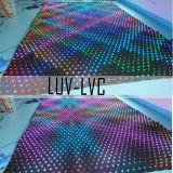 Doux et souple de rideau de vidéo à LED de taille personnalisée