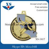 Estilo del arte popular y medalla del esmalte del metal de la técnica de bastidor