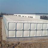 Acier inoxydable vissé l'eau des réservoirs de stockage avec certificat ISO9001