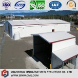 Modern Steel Structure Warehouse na África do Sul