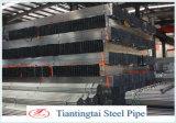 Tubo de acero galvanizado sección hueco laminada en caliente