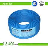 Cordon d'alimentation électrique sur le fil UL1581 600V, UL1015 12AWG/câble 10AWG Thhn
