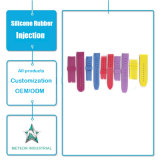 Подгонянная планка полосы вахты силикона подарков продуктов прессформы впрыски силиконовой резины выдвиженческая