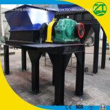 Reciclagem de granulado de plástico Triturador de eixo único