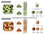 Farben-Änderung synthetische Zultanite Edelsteine (NZ1536)