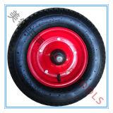 16 인치 고무 팽창식 바퀴; 압축 공기를 넣은 바퀴; 정원 차 바퀴