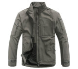 Outdoor Shakeskin Commander Impermeável Casaco Autumn Winter Windproof Men's Coat