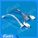 Ce de aprobación ISO el tubo de traqueotomía (con/sin manguito)