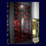 Modern Flower Design Kitchen Door UV Board