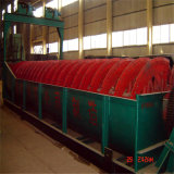 Classificateur spiralé pour le matériel de chaulage de mine