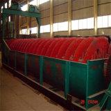 Classificador espiral para o equipamento do banho de água de cal da mina