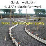 Bürgersteig-Plastikverschalung-Arbeit schneller, Kosten weniger, Bürgersteig-Verschalung