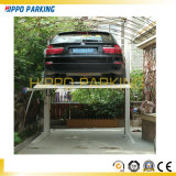 熱い販売の2つのポストの油圧自動駐車携帯用折るガレージ