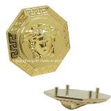 Di piastra metallica su ordinazione con il marchio del fronte 3D