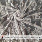 Cordón nupcial de Chantilly de la tela del cordón (M2146-3M)