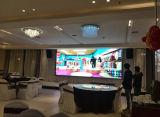 Pantalla de visualización a todo color de interior de LED P7.62 para hacer publicidad