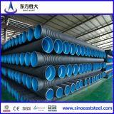 Conduttura ondulata doppia dell'HDPE resistente dei prodotti chimici