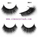Personalizar el logotipo de marca 3D el pelo de visón falsos latigazos de belleza cosmética maquillaje