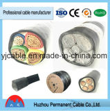 Câble d'alimentation du faisceau XLPE d'en cuivre (aluminium) avec la bande en acier blindée