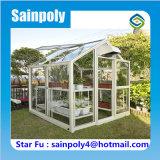 Самый дешевый Sainpoly небольшой стеклянный сад парниковых