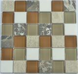 ネイティブ壁の装飾のための新しいガラス物質的なモザイク