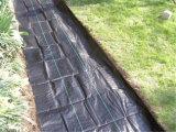 Agricuturalのための3m X150mの黒く白い地被植物