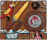 Piraten-Serie scherzt Spielzeug-Plastikklinge mit heller Musik