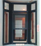 Finestra di alluminio di migliori prezzi con l'otturatore/feritoia ed il vetro Tempered