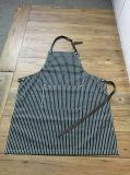 Fabricante branco do avental da listra da marinha feita sob encomenda da alta qualidade em China