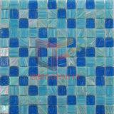Tuile de mosaïque en cristal bleu-foncé pour le syndicat de prix ferme sous l'utilisation de l'eau (CSJ149)