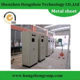 Fabricación de metal de hoja para el recinto de la máquina por el corte del laser