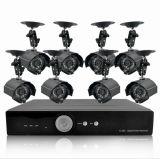 Haute qualité Sony CCD 1/3 420TVL 8 kit de caméra de surveillance 8 caméras de vidéosurveillance extérieure High-Def système DVR (JH_CCTV_157)