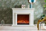 L'Italie Styple blanc cheminée électrique Accueil Mobilier LED (354B)