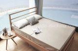 固体木のベッドの現代ダブル・ベッド(M-X2332)