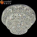 Nieuwe LEIDENE van de Verlichting van het Plafond van de Kroonluchter van het Product Goedkope Kristal Opgeschorte Lamp (OM55104-800)