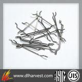 Fibre en acier à fibre de fer pour matériaux de construction en métal