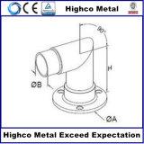 Bride de base de base de support pour la balustrade et la balustrade d'acier inoxydable