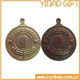 Kundenspezifische Metallantike-Medaille für Andenken (YB-m-013)