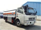 Dongfeng 120HP 4X2 유형 유조선 모형 6000-8000 리터