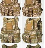 Veste tática do exército protetor macio militar da segurança do combate de Molle da engrenagem